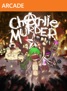 Box art for the game Charlie Murder