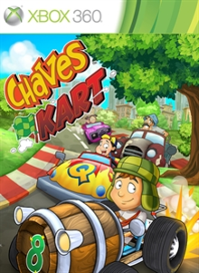 Box art for the game El Chavo Kart