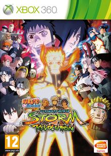 Box art for the game Naruto Shippuden: Ultimate Ninja Storm Revolution