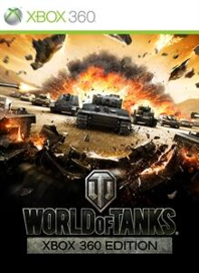 Box art for the game World of Tanks: Xbox 360 Edition