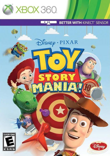 Box art for the game Toy Story Mania!
