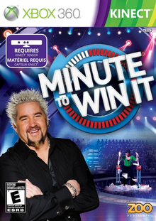 Box art for the game Minute to Win It
