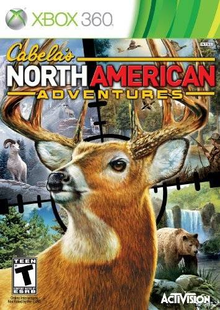 Box art for the game Cabela's North American Adventures