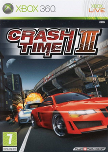 Box art for the game Crash Time III