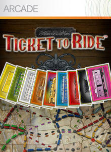 Box art for the game Ticket to Ride