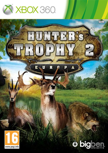 Box art for the game Hunter's Trophy 2 - Europa