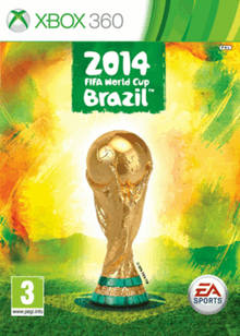 Box art for the game 2014 FiFA World Cup Brazil