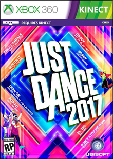 Box art for the game Just Dance 2017