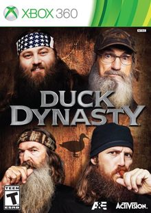 Box art for the game Duck Dynasty