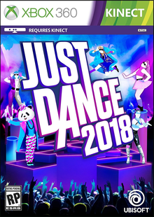 Box art for the game Just Dance 2018