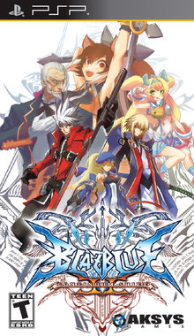 Box art for the game BlazBlue: Continuum Shift II