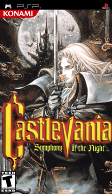 Box art for the game Castlevania: Symphony of the Night