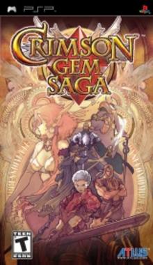 Box art for the game Crimson Gem Saga