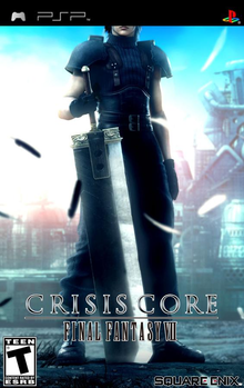 Box art for the game Crisis Core: Final Fantasy VII