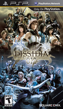 Box art for the game Dissidia 012 Final Fantasy