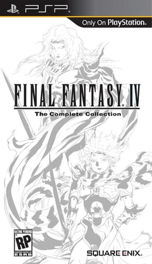 Capa do jogo Final Fantasy IV: The Complete Collection