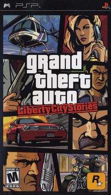 Box art for the game Grand Theft Auto: Liberty City Stories