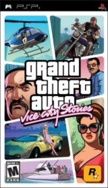 Capa do jogo Grand Theft Auto: Vice City Stories
