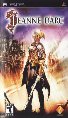 Box art for the game Jeanne d'Arc
