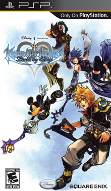 Capa do jogo Kingdom Hearts: Birth by Sleep