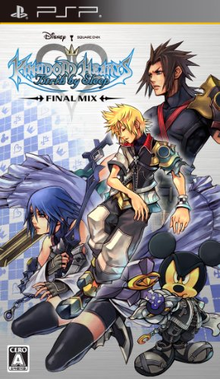 Box art for the game Kingdom Hearts: Birth by Sleep -- Final Mix