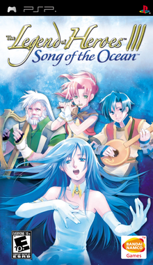 Box art for the game Legend of Heroes III: Song of the Ocean