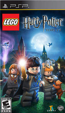 Box art for the game LEGO Harry Potter: Years 1-4