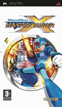 Box art for the game Mega Man Maverick Hunter X