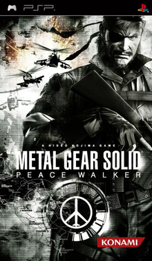 Box art for the game Metal Gear Solid: Peace Walker