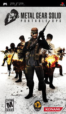 Box art for the game Metal Gear Solid: Portable Ops