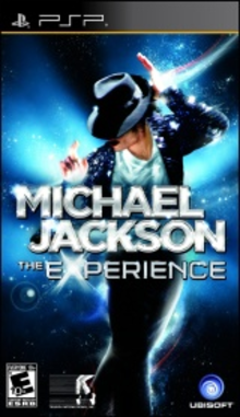 Box art for the game Michael Jackson: The Experience