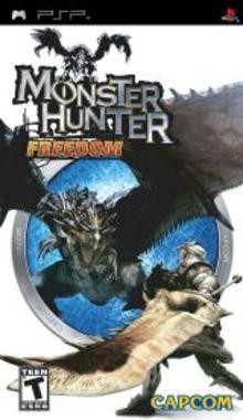 Box art for the game Monster Hunter Freedom