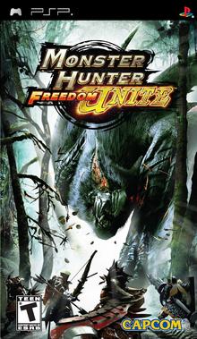Box art for the game Monster Hunter Freedom Unite
