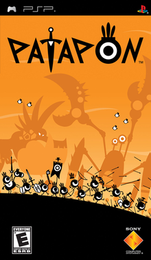 Box art for the game Patapon