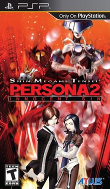 Box art for the game Persona 2: Innocent Sin