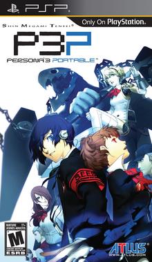 Box art for the game Shin Megami Tensei: Persona 3 Portable