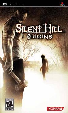 Capa do jogo Silent Hill Origins