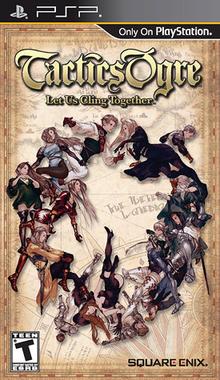 Capa do jogo Tactics Ogre: Let Us Cling Together