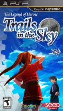 Box art for the game The Legend of Heroes: Trails in the Sky