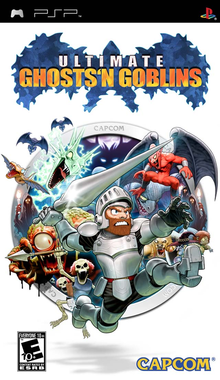 Box art for the game Ultimate Ghosts 'N Goblins