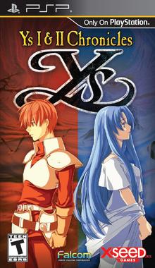 Box art for the game Ys I & II Chronicles