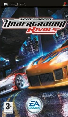 Box art for the game Need for Speed: Underground Rivals