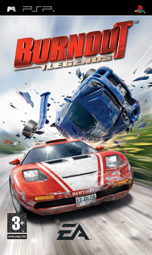 Box art for the game Burnout Legends