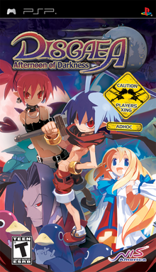 Box art for the game Disgaea: Afternoon of Darkness