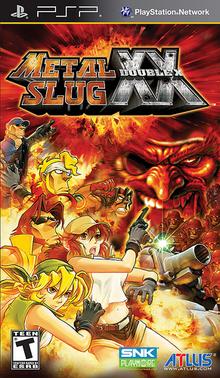 Box art for the game Metal Slug XX