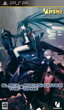 Box art for the game Black Rock Shooter: The Game