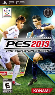 Box art for the game Pro Evolution Soccer 2013