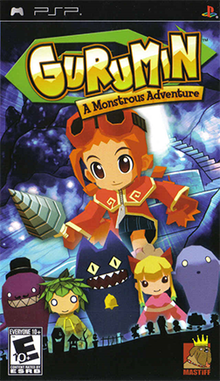 Box art for the game Gurumin: A Monstrous Adventure