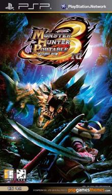Box art for the game Monster Hunter Portable 3rd