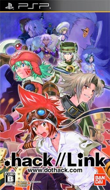 Box art for the game .hack//Link